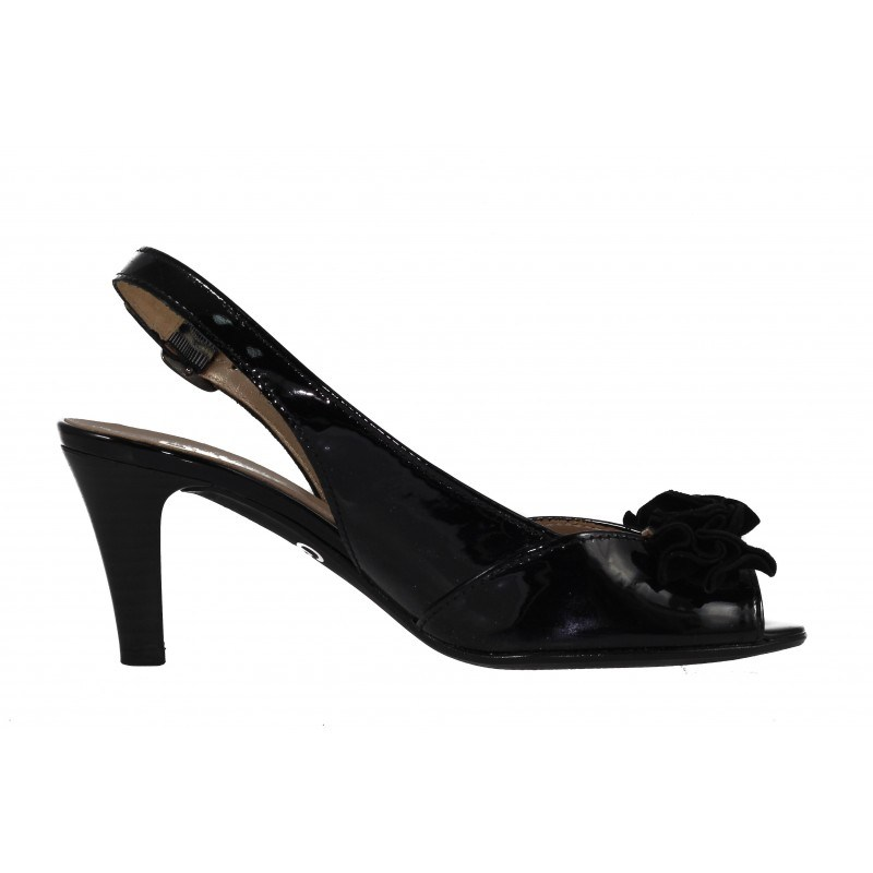 Дамски обувки на среден ток Gabor черни 4180097