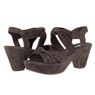 Дамски кожени сандали Gabor 4572213 сиви