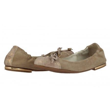 Дамски обувки балерина Janet бежови