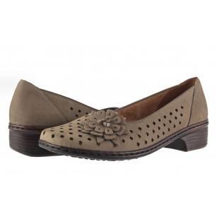 Дамски летни обувки на ток Ara Jenny кафяви