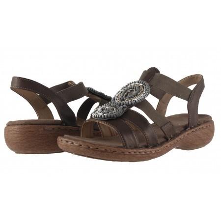 Дамски ортопедични сандали Ara кафяви
