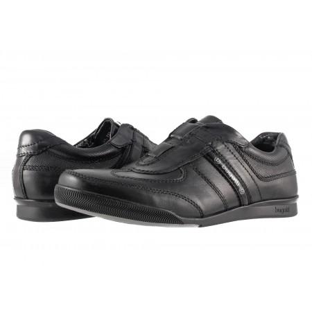 Мъжки обувки без връзки Bugatti черни