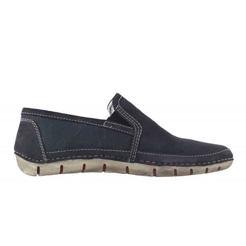 Мъжки летни обувки без връзки Bugatti® сини