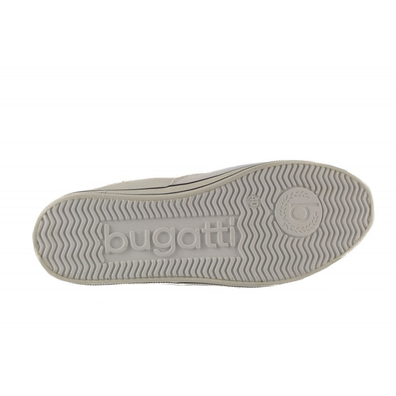 Мъжки гуменки с връзки Bugatti бели
