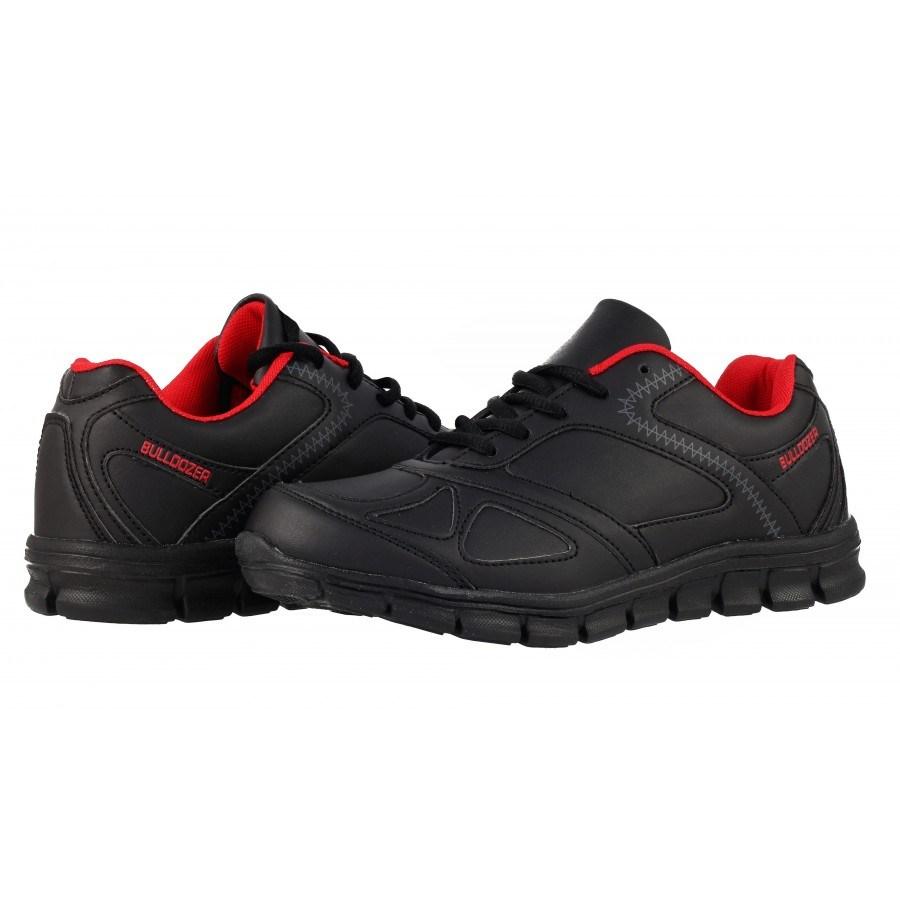 4bfa2030455 ✓ Дамски маратонки с връзки черни Bulldozer — Компас