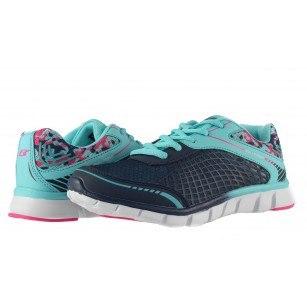 Дамски маратонки с връзки Bulldozer сини 6034805