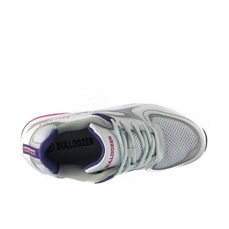 Дамски маратонки с връзки Bulldozer easy walk бели