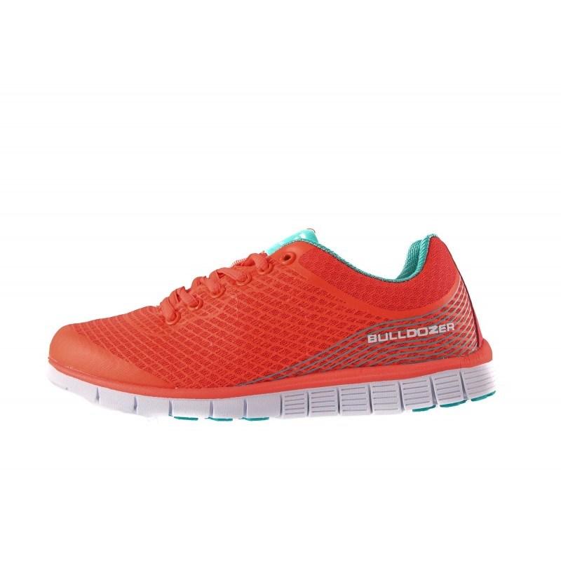 Дамски маратонки с връзки Bulldozer оранжеви