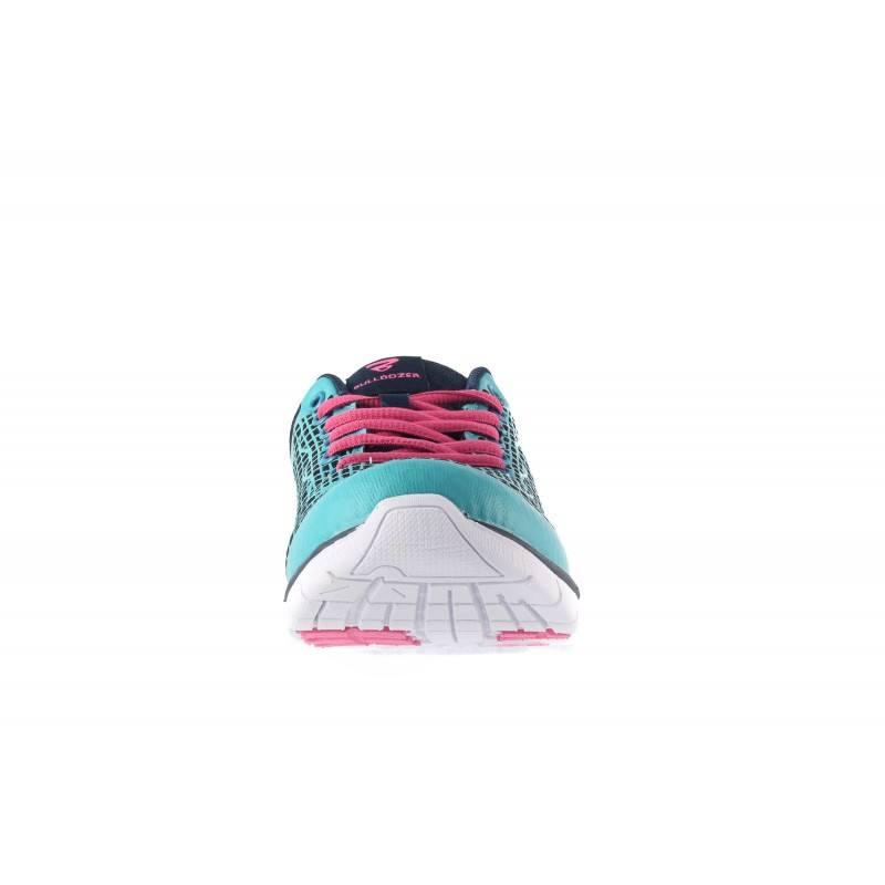 Дамски маратонки с връзки Bulldozer сини