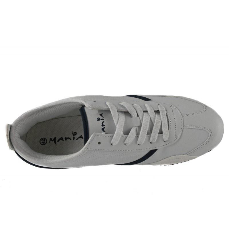 Мъжки спортни обувки Mania бели комби 0511100
