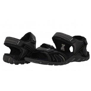 Мъжки анатомични сандали Bulldozer черни