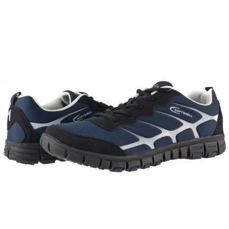 Мъжки маратонки Mania сини комби 431805