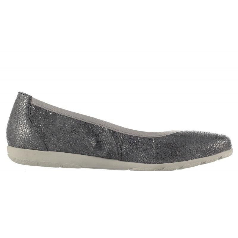 Дамски равни обувки балерина Caprice златисти