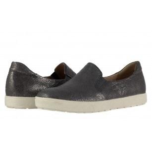 Дамски кожени обувки гуменки Caprice сиви