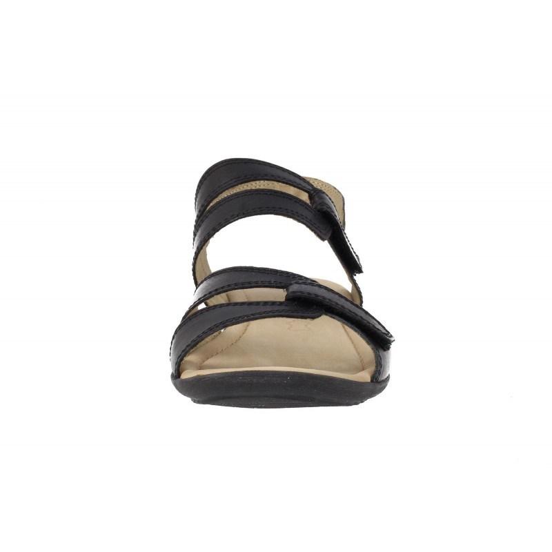 Дамски сандали на равно ходило Caprice черни