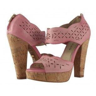 Дамски обувки на ток  Carrano розови 34902