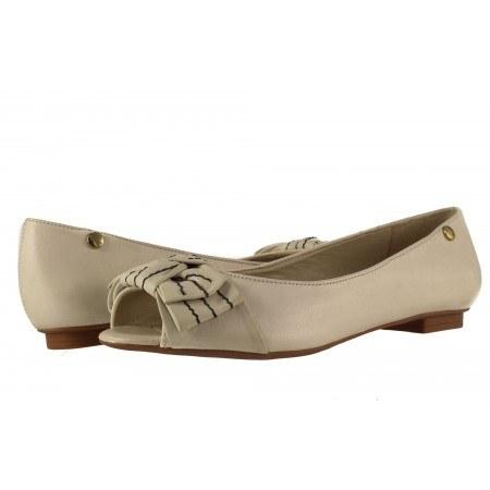 Дамски елегантни обувки равно ходило Carrano бежови 69223
