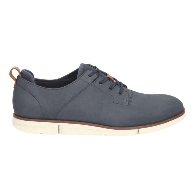 Мъжки обувки с връзки Clarks син Trigen Walk 26115295