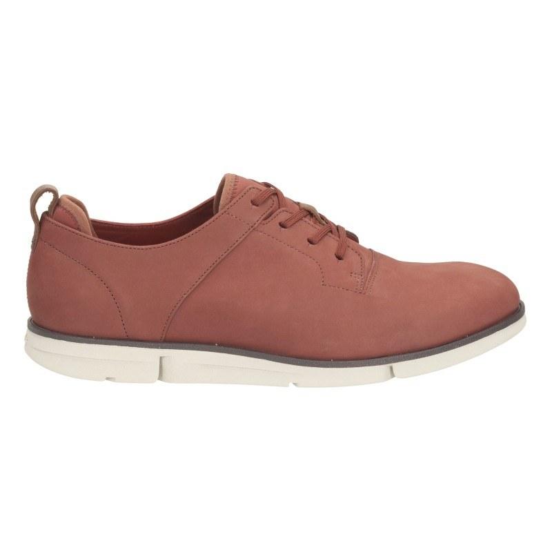 Мъжки обувки с връзки Clarks rust Trigen Walk 26115295