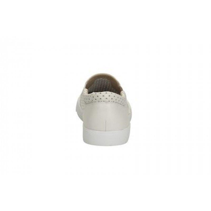 Дамски спортно-ежедневни гуменки Clarks Glove Puppet бели