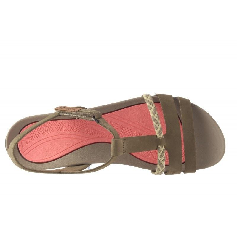 Дамски анатомични сандали Clarks Tealite Grace кафяви