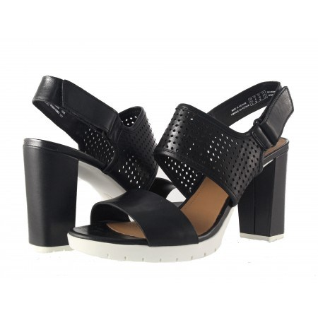 Дамски сандали на висок ток Clarks Pastina Malory черни