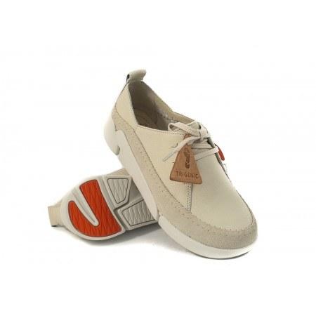 Дамски спортно-ежедневни обувки Clarks Tri Angel бели