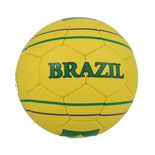 Футболна топка Brazil жълта