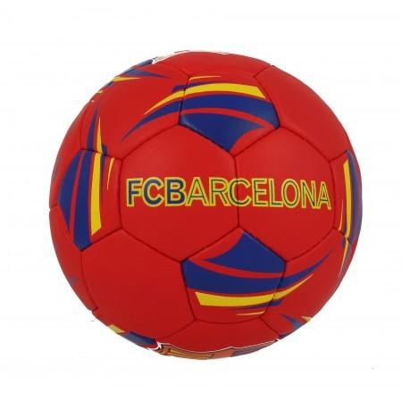 Футболна топка FCBarcelona червена