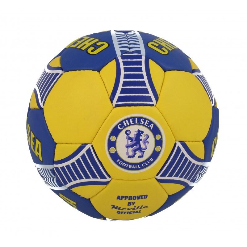 Футболна топка Челси синя/жълта