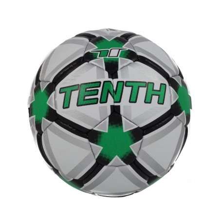 Футболна топка Tenth бяла