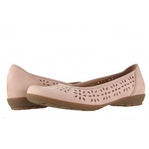 Дамски обувки Gabor розов набук 6423612