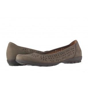 Дамски обувки Gabor сиви набук 6423613