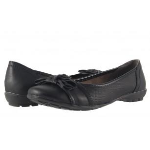 Дамски обувки балерина Jana черни