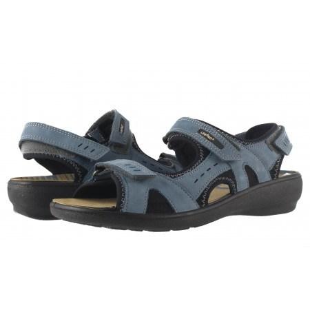 Дамски ортопедични сандали Legero сини