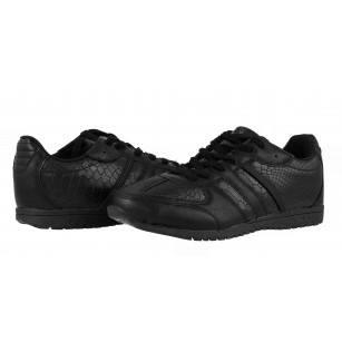Мъжки спортни обувки с връзки Mania черни