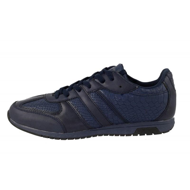 Мъжки спортни обувки с връзки Mania сини