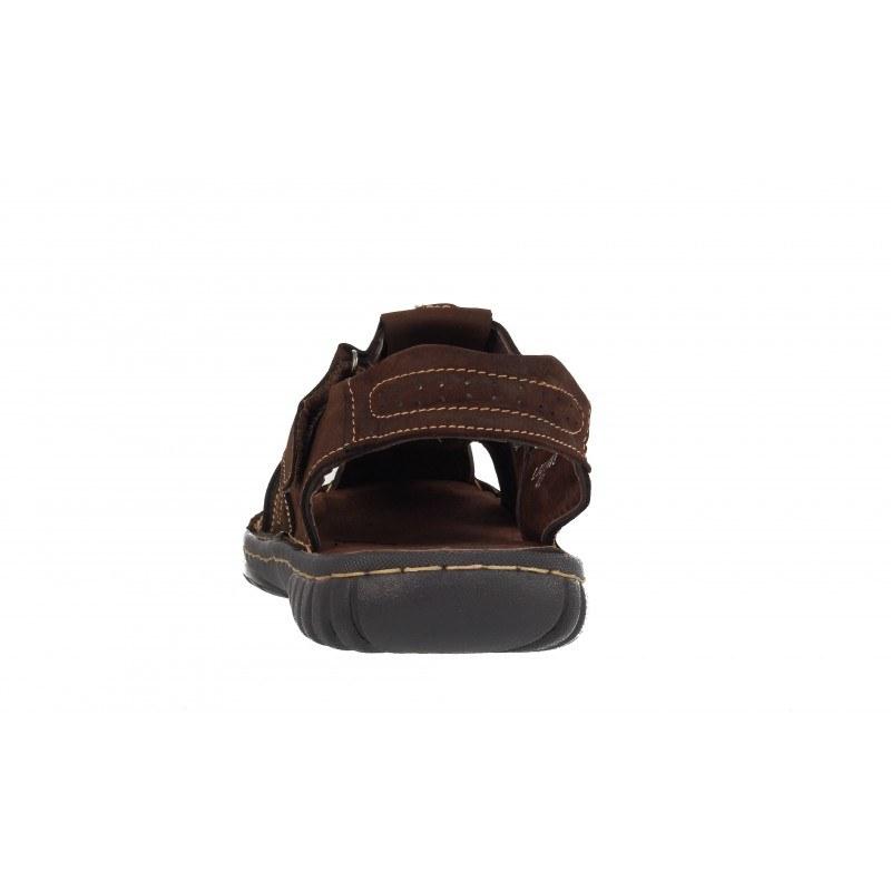 Мъжки сандали Mania естествена кожа кафяви