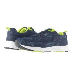 Мъжки маратонки Mania сини деним 1532805