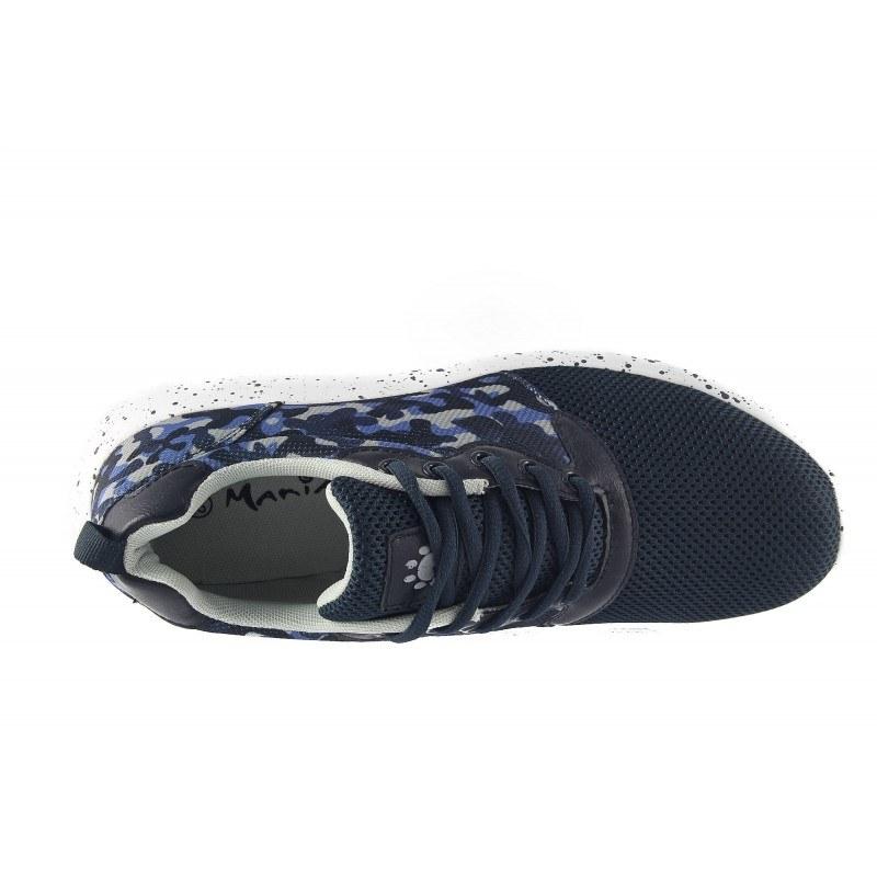 Мъжки маратонки Mania сини камуфлаж 1573805