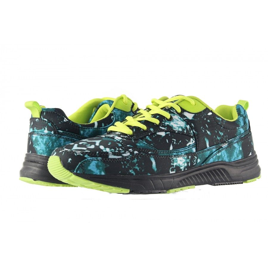 Мъжки маратонки Mania черно-сини 1581700