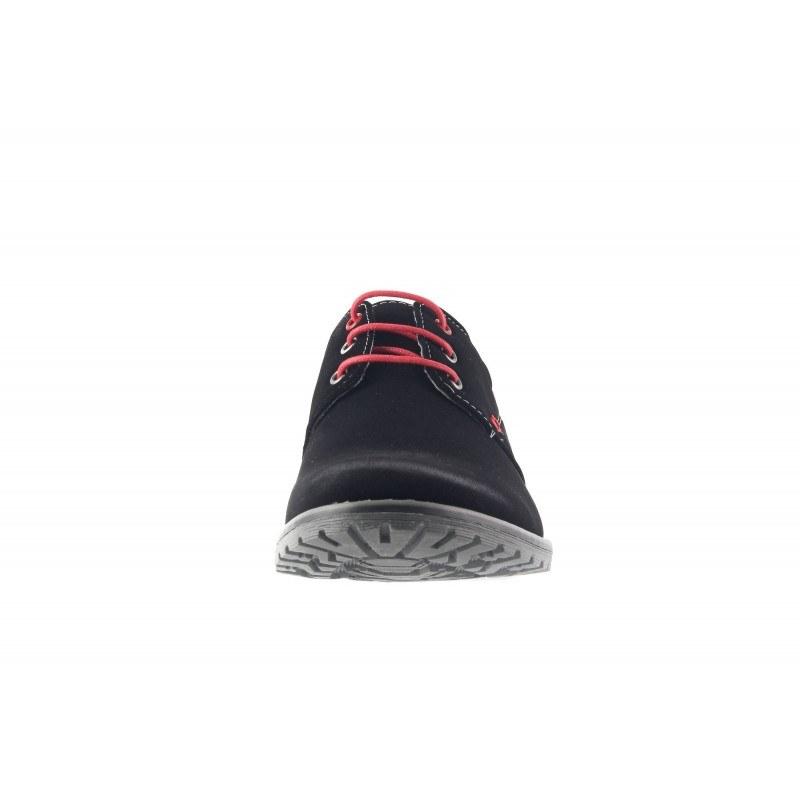 Мъжки обувки с връзки Mania черни 295001