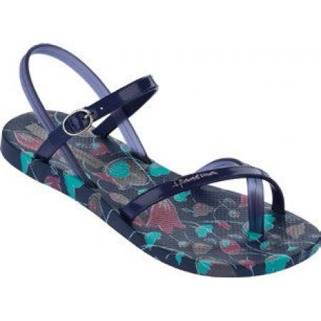 59715b37276 ✓ Дамски сандали равни Ipanema тъмно сини FASHION SAND — Компас
