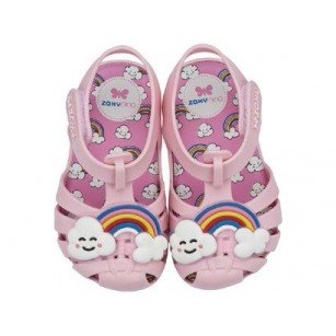 Бебешки сандалки за момиче Zaxy розови ароматизирани CEU 21-26