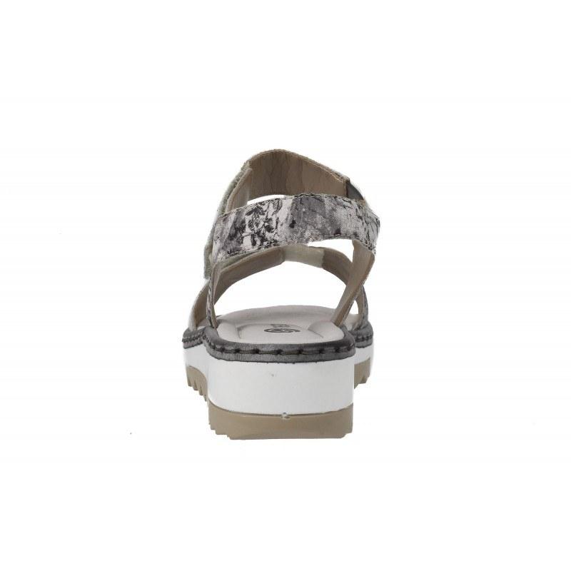 Дамски кожени сандали Remonte принт