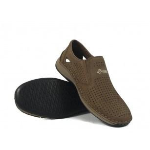 Мъжки летни обувки бежови Rieker 0528964