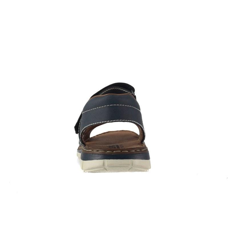 Мъжки анатомични сандали Rieker сини