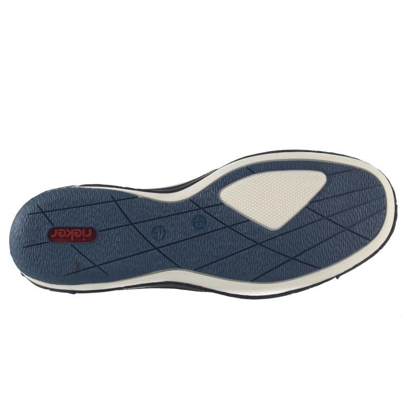 Мъжки кожени обувки Rieker сини B9255-14
