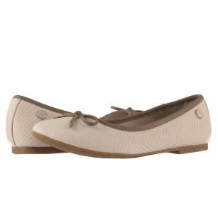 Дамски обувки балерина S.Oliver бежови