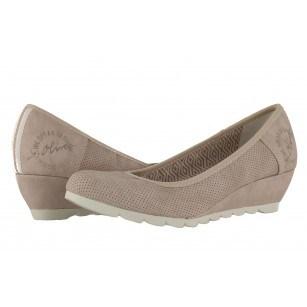 Дамски обувки на платформа S.Oliver розови